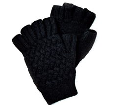 Fingerless Gloves +Bottega Veneta