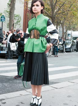 MOST WANTED : A Line Skirt