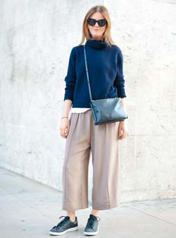 Yes! Wide Cropped Pants